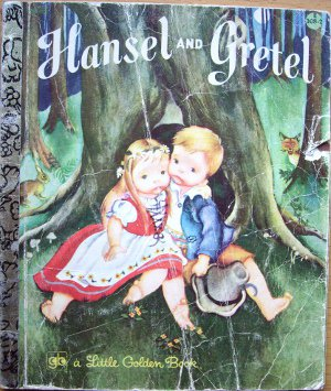 Hansel and Gretel, a Golden Book, illustrated by Eloise Wilkin