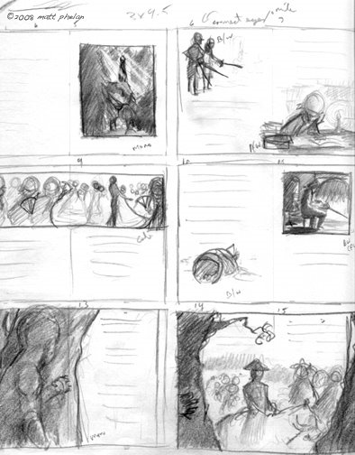 Storyboard for BIG GEORGE