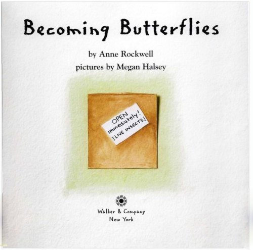 "Title page from ""Becoming Butterflies"""