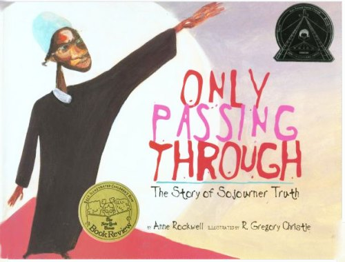 "Cover from ""Only Passing Through: The Story of Sojourner Truth"""