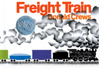 "Link to announcement of iPhone app for the Caldecott Honor book ""Freight Train,"" first published in the 1980s"