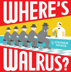 "Book cover of ""Where's Walrus?"""