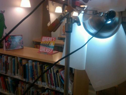 At the NYPL Reading Room