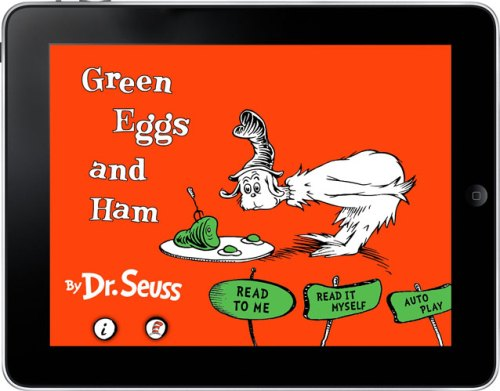 Green Eggs and Ham for the iPad
