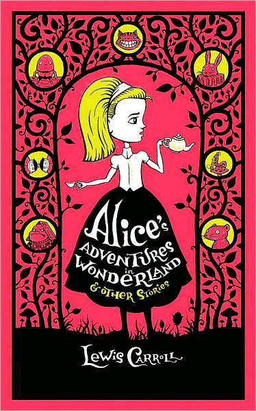 "Cover illustration for ""Alice in Wonderland"""