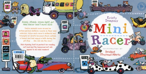 U.S. edition of MiniRacer cover