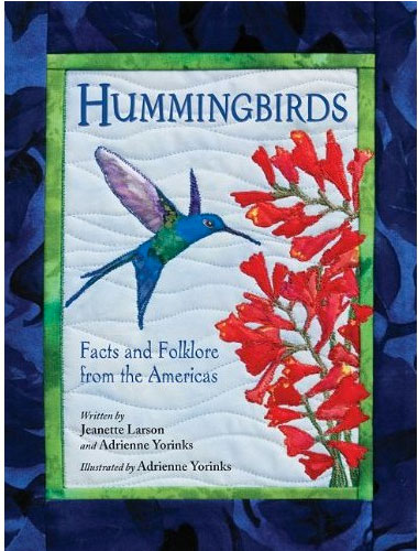 "Final jacket for ""Hummingbirds"""