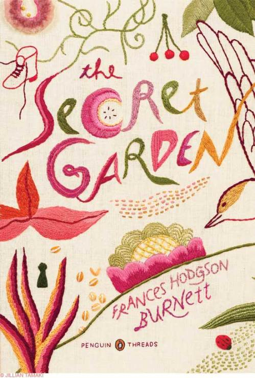 "front cover for ""The Secret Garden"""