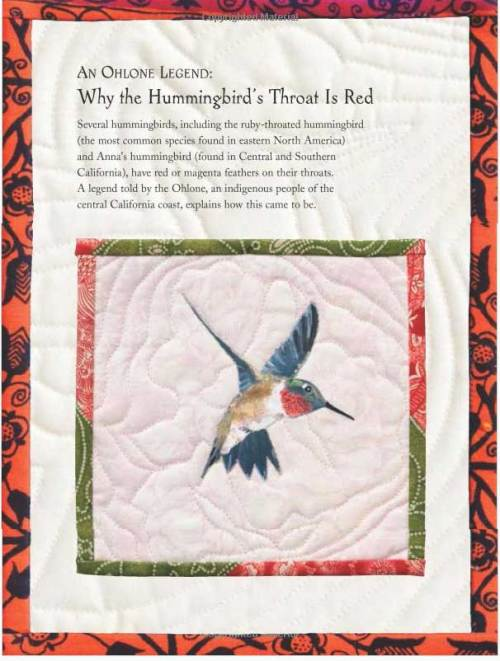 "A text page from ""Hummingbirds"""