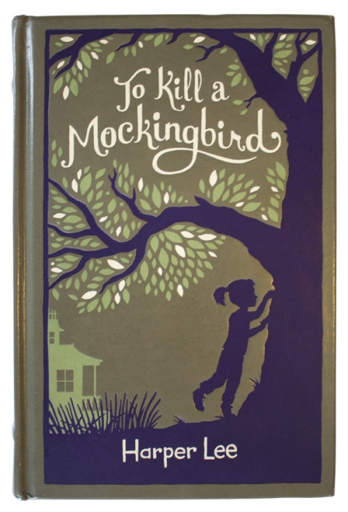 "front cover for ""To Kill a Mockingbird"", illustrated by Hugh D'Andrade"