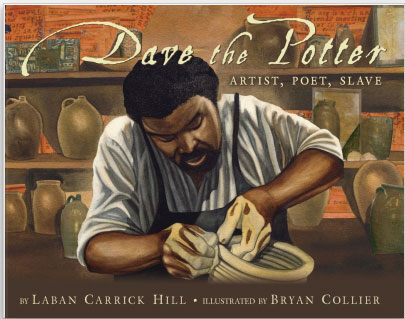 "front jacket from ""Dave the Potter, Artist, Poet, Slave"""
