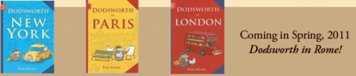 The Dodsworth series by author/illustrator Tim Egan