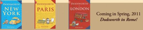 The Dodsworth series by author/illustrator Tim Egan
