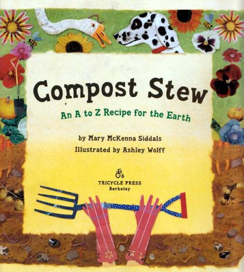 "title page from ""Compost Stew"""
