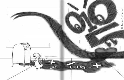 Math Monster by Anna Guillotte
