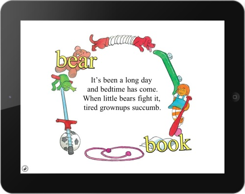 The poem that Jan and Mike Berenstain requested be the first page of the omBook