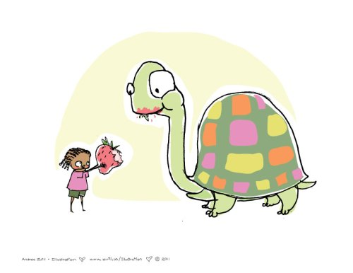 Turtle by Andrea Zuill
