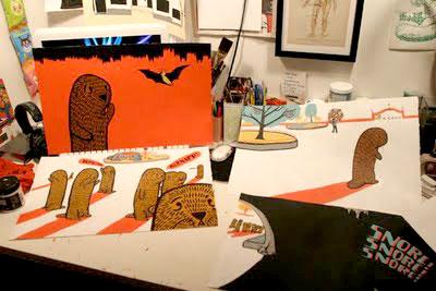 Zachariah Ohora's studio
