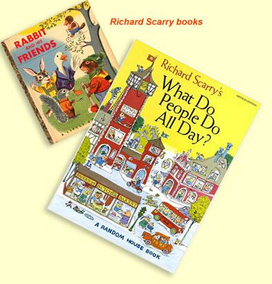 Richard Scarry books