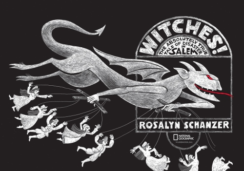 "title page spread from ""Witches!"""