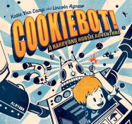 "jacket from ""Cookiebot!"" by Katie Van Camp, illustrated by Lincoln Agnew"