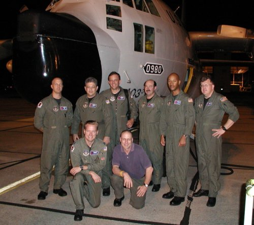 Hurricane Hunters Crew portrait