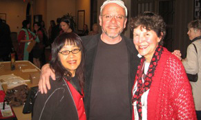 Left to right: Joy Chu, Richard Jesse Watson, Edith Hope Fine