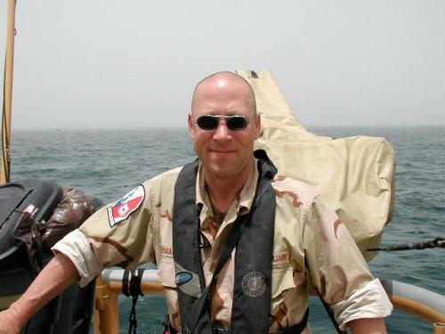 Chris Demarest on the Persian Gulf