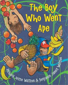 "cover from ""The Boy Who Went Ape"""