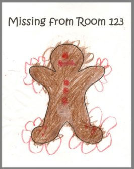 Missing poster colored by students