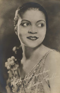 "photo of Florence Mills, ""the Queen of Happiness"""